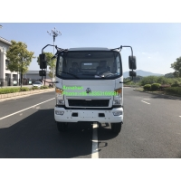 China 4T Air Conditioner 2800mm Light Duty Commercial Trucks on sale