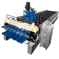 Buy cheap Double Layer Aluminum metal Roofing Sheet Roll Forming Machine Metal Tile Making Machine In China from wholesalers