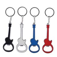 Buy cheap Cool Promo Gift Aluminum Giutar Bottle Opener Keychain from wholesalers