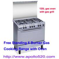Buy cheap Free Standing Gas Stoves with 6 Burners from wholesalers