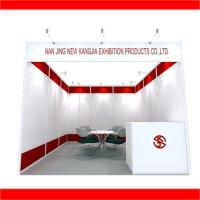 Buy cheap Trade    show    booth   3*3m   back  to   back    design from wholesalers