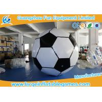 Buy cheap 3m Giant Inflatable Sport Games / Inflatable Football For Paintball Party from wholesalers