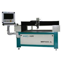 Buy cheap 1000*1000mm mini and small and cheap water jet cutting machine with 420Mpa high pressure pump,no need to be installed from wholesalers