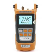 Buy cheap Fiber Optic Power meter with 10km Laser source Visual Fault locator Meter + VFL from wholesalers