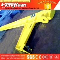 Buy cheap Manufacture BZ Type Remote Control Slewing Portable 10 Ton Jib Crane from wholesalers