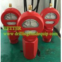 Buy cheap BETTER Type D Mud Pressure Gauge Equal OTECO Model 7 End Connection 2LPT/NPT Standard Walt Water Sour Gas from wholesalers