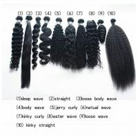 Buy cheap Soft Malaysian Body Wave Virgin Hair / Wavy Human Hair Extensions Grade 9A from wholesalers
