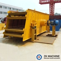 Buy cheap Ore Dressing Building Material 1700t/h Vibrating Screen Machine from wholesalers