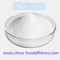 Buy cheap Food Additives Zinc Lactate food grade CAS:16039-53-5 from wholesalers