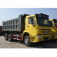 Buy cheap Sinotruk HOWO 6x4 Dump Truck Trailer 18M3 Square Shape / U Shape Tipper Body from wholesalers