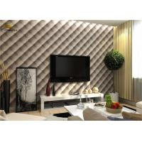 Buy cheap Interior Noise Reduction Wall Panels 600mm x 600mm With PU Leather Finish from wholesalers