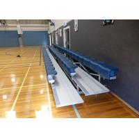 Portable Aluminum Grandstands , Outdoor Aluminum Bleachers For Events / Matches