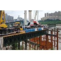 Buy cheap Military Use Floating Pontoon Bridge Bailey System Modular Steel Bridges product