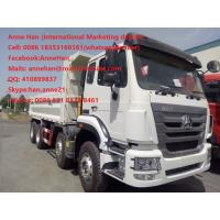Buy cheap Sinotruk Hohan Tipper truck with Light Deadweight  6x4 10tires Dump Trucks LHD Volvo Cabin from wholesalers