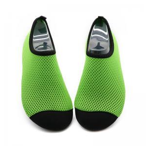 Buy cheap Quick Drying Aqua Mesh Swim Shoes Lightweight Anti - Slip Rubber Sole product