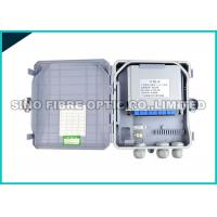 Buy cheap 16 Ports Inserting LGX PLC Splitter Fiber Optic Termination Box Assembly from wholesalers