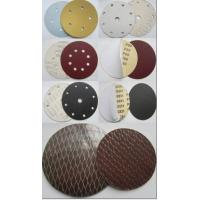 Buy cheap Aluminium oxide Velcro/pas abrasive disc from wholesalers