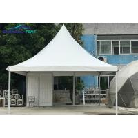 Buy cheap Aluminum Alloy Pagoda Event Tent With Double PVC Coated Polyester Cover from wholesalers