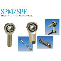 Buy cheap SPM / SPF Industrial Stainless Steel Rod Ends Self Lubricating Molded Race from wholesalers