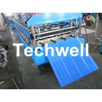 Buy cheap TW-18-228.5-914 Roof and Wall Cladding Roll Forming Machine With Hydralic Cutting and PLC Control from wholesalers