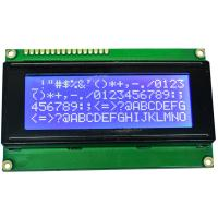 Buy cheap STN Blue Negative LCD Display Module 98.0x60.0x14.0 For Communication Equipment product