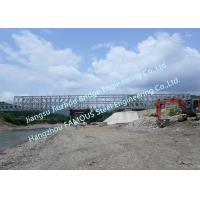 Buy cheap Metal Bailey Railway Steel Bridge Constrcuct  Long Single Span For Russia Client from wholesalers