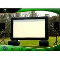 Buy cheap Indoor / Outdoor Inflatable Movie Screen , Inflatable Screen Projector For Cinema from wholesalers