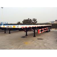 Buy cheap Flat Bed Semi Trailer,cimc vehicles,Container trailers,skeleton,china manufacturer,terminal trailer, CIMC TRAILER, from wholesalers