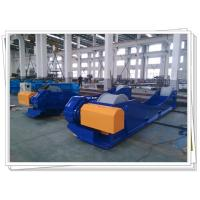 China Customized Tank Turning Rolls With Steel Roller For 150T 12M Job Shot Blasting on sale