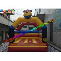Buy cheap Customized Tiger Kids Inflatable Jumper Commercial Bounce Houses For Childrens from wholesalers