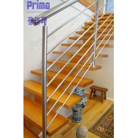 Buy cheap Indoor modern stairs stainless steel railings system from wholesalers