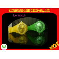 Buy cheap hot-selling Promotion Gift silicone ICE toy Watch with customized logo imprinting from wholesalers