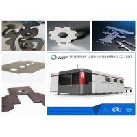 8000 W Fiber Laser Cutting Machine For Metal Plate , Sheet Metal Cnc Machines
