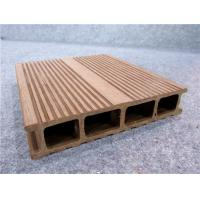 Buy cheap UPVC Composite Vinyl Decking Hollow WPC Decks For Outside Decor from wholesalers