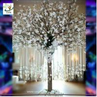 Buy cheap UVG Memory artificial wishing tree with white magnolia flower for Christmas decoration from wholesalers
