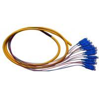 Buy cheap UPC SC Fiber Optic Cable Multimode , 12 Core Pigtail Cable High Credibility from wholesalers