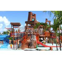 Buy cheap Giant Spray Park Equipment Aqua Playground for Family Members Holiday Summer Entertainment from wholesalers