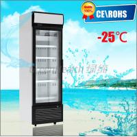 Buy cheap One Door Small Glass Door Freezer -25 Degree Dynamic Cooling Eco Friendly from wholesalers