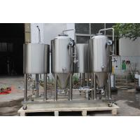 Buy cheap 100L micro brewery equipment for home beer brewing with full set of brewing systems from wholesalers