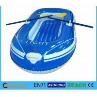 Buy cheap Rugged Super Tough Large Inflatable Boat , Lake Inflatable Boat With Motor Mount from wholesalers