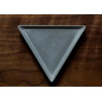 Buy cheap Handmade Triangle Concrete Plate Molds High Temperature Resistant Silicone Molds product