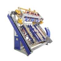 Buy cheap 2000*2800*2600mm Euro Pallet Automatic Nailer Machine from wholesalers