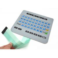 Buy cheap Flat Membrane Keyboard Switch For Machanical Controller With Connector from wholesalers