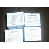 Buy cheap Two Sided Package Insert Printing Paper Leaflet Folding For Pharma Box from wholesalers