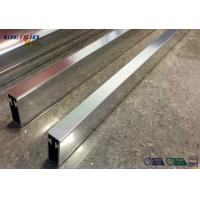 Sliver Mirror Polished Aluminium Profile For Bacony Rail Polished Aluminum Extrusion Profiles