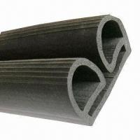 Buy cheap D-shaped Rubber Extrusions, Available in Various Colors from wholesalers