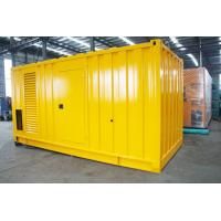 Buy cheap Soundproof Silent Diesel Generator Set 2500kva 400 / 230V AC Three Phase Output from wholesalers