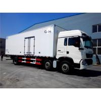 Buy cheap FRP 6x2 30 tons Refrigerated Box Truck 290hp with warranty and spare parts from wholesalers