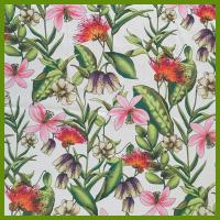Buy cheap Colorful flower design printed tablecloth made of 100% polyester table decration cloth from Wholesalers