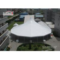 Buy cheap Heavy Duty White High Peak Tents / Marquees , Clear Span Tents Structure For Event from wholesalers